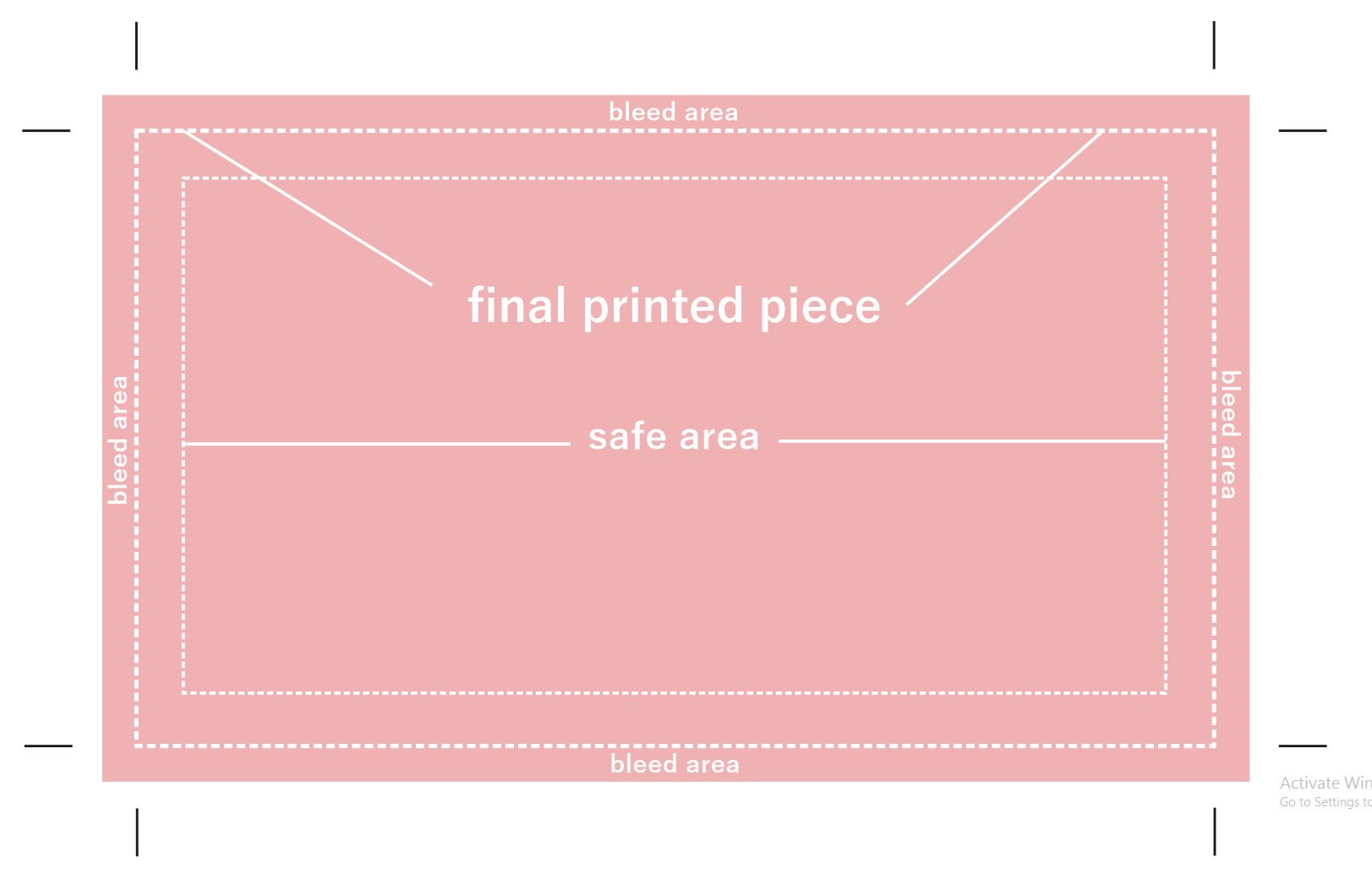 what are crop marks in print design