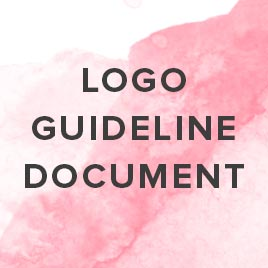 what is a logo guideline document