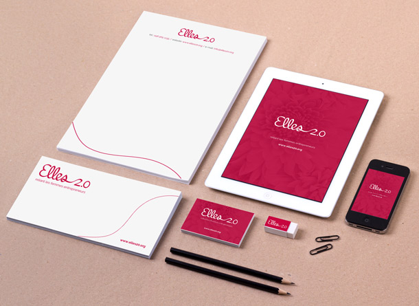 brand identity for female entrepreneur organisation