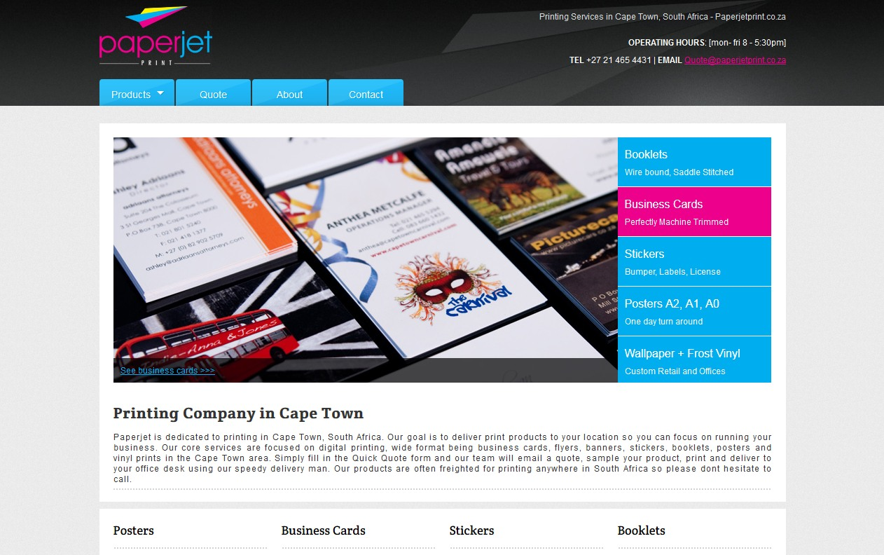 Online Printers in South Africa