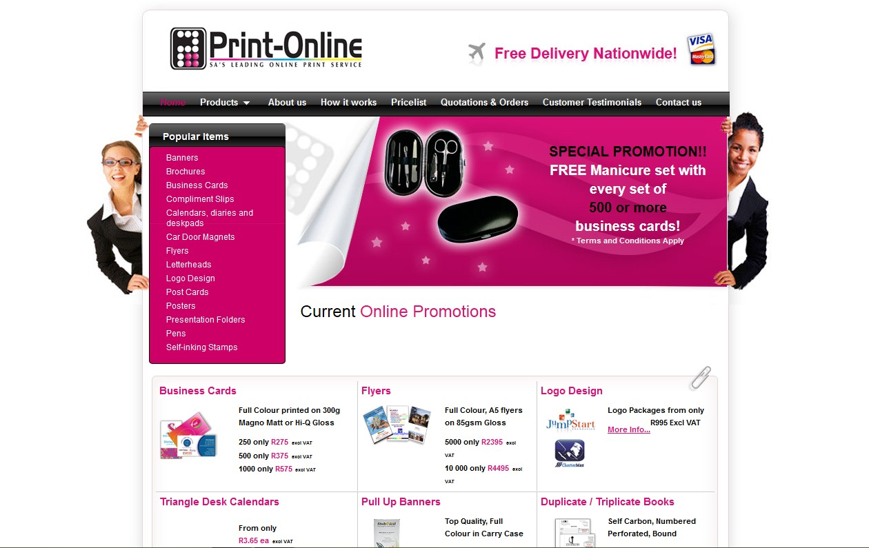 print online south africa