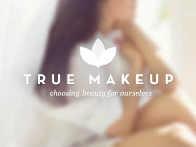 True Makeup Logo by Tyler Gross