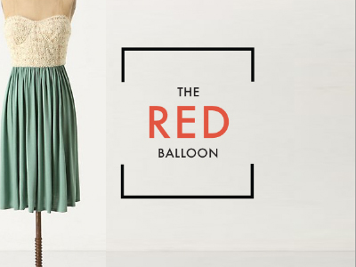 The Red Balloon Logo by Beth Mathews