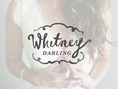 Whitney Darling logo by Amy Wood