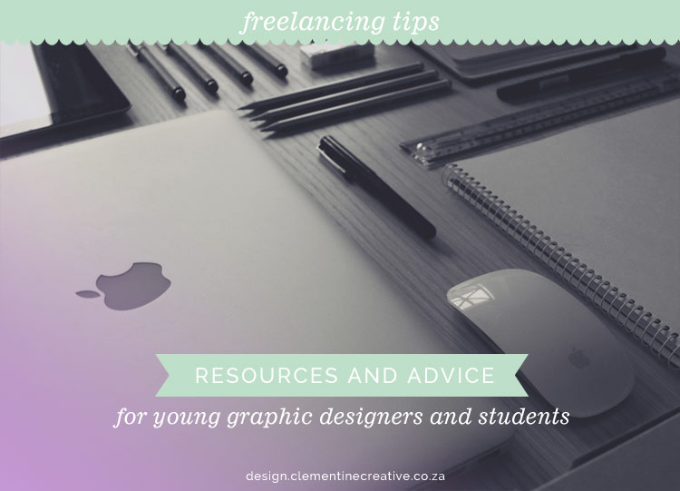 resources and advice for new freelancers and graphic design students