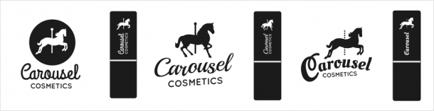 cosmetics custom logo design options