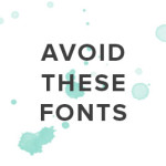 Don't use These Fonts for your Brand Identity