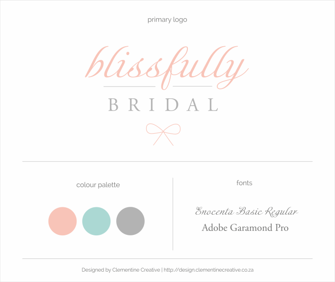 bridal boutique logo design