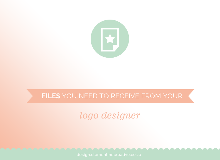 files you need from your logo designer