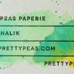 Business Card Ideas: Watercolour