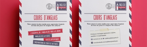 New Work: Airmail Branding for English Express