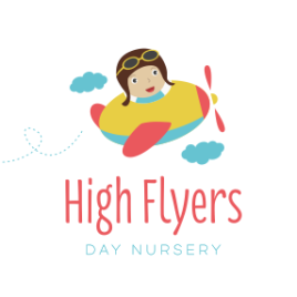 New Work: High Flyers Nursery Logo Design