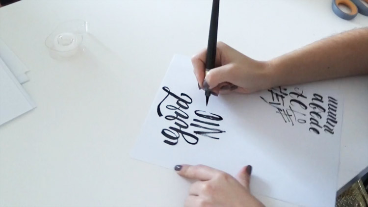 drawing letters course