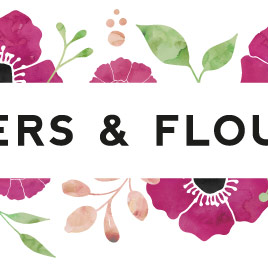flowers and flourish logo