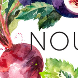 New Work: Logo Design for Nourished by Nutrition