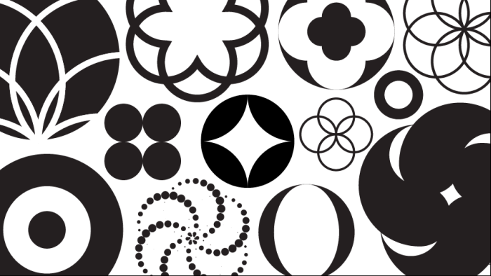 learn to create logos with circles