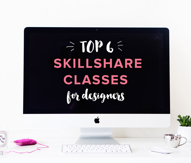 If you are a designer or creative person eager to expand your skill set, take a look at these 6 favourite Skillshare classes, including logo design, digital illustration, productivity, print production, and pattern design.