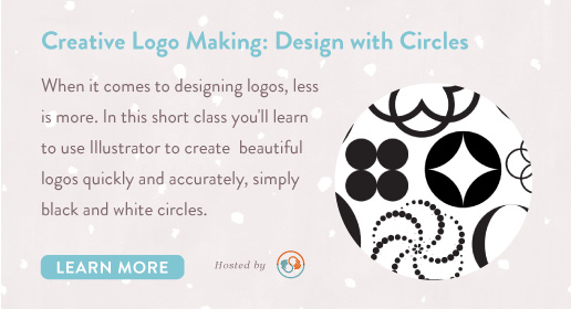 designing logos with circles