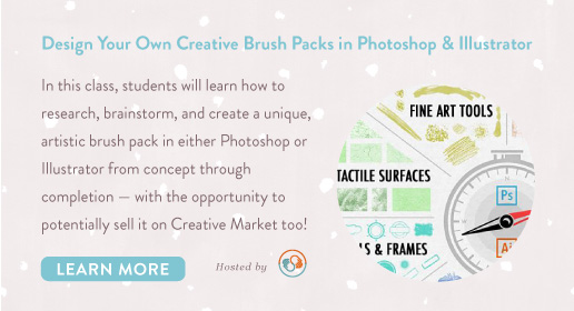 creating brush packs with illustrator and photoshop