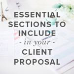 Essential Sections to Include in Your Client Proposal