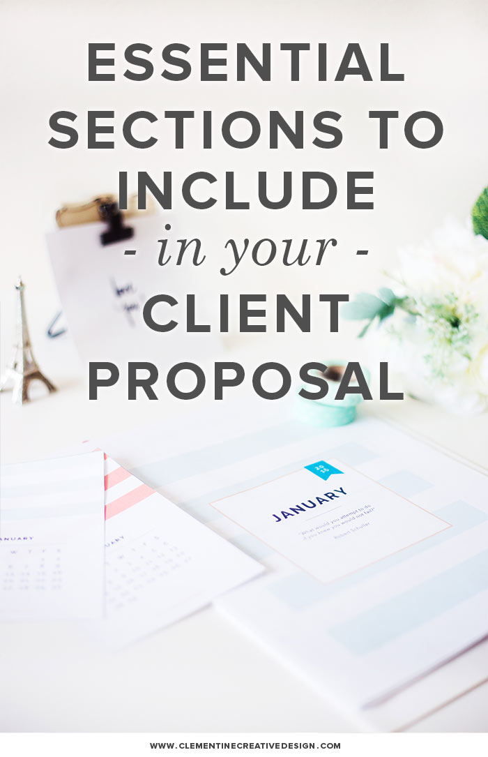 Want to know how to create an effective proposal that will help you land more clients? Read about what I include in my proposals here.