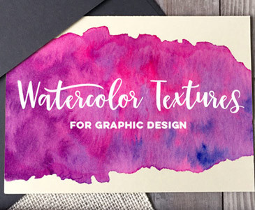Class Review: Watercolor Textures for Graphic Design