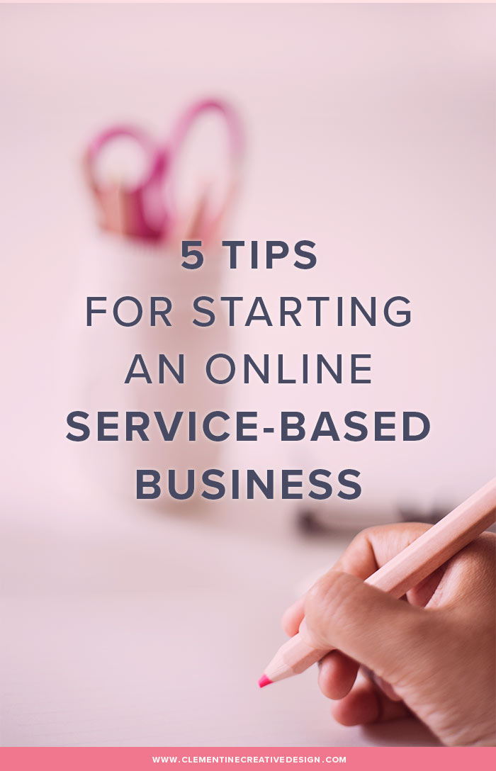Want to start your own online service-based business? Read some of the tips I learnt over the years as a graphic designer. This advice can apply to any creative service-based business like photographers, lettering artists, web designers, blog designers, social media marketers and more.