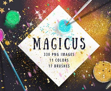 Add Magic to your Design Projects with the Vibrant, Artistic Bundle (98% off!)